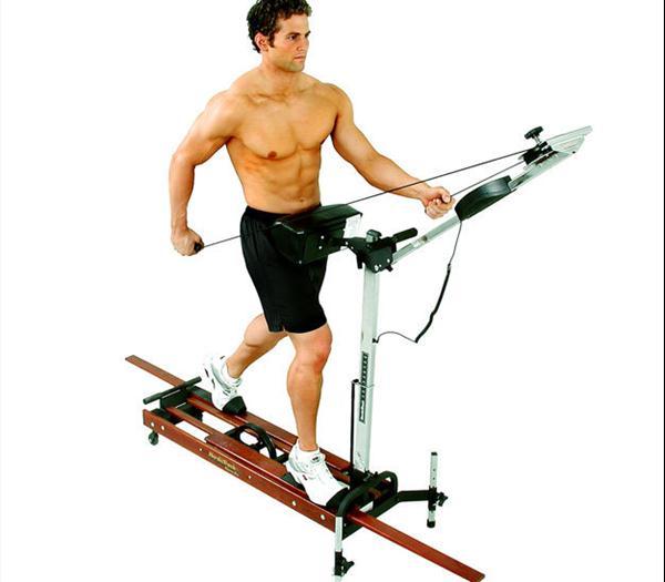 Nordic track skier workout program dandk